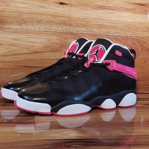 "JORDAN 6 RINGS (GS)   ""Black Pink"""